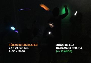 Férias Intercalares 25 a 29 outubro    Jogos de luz na câmara escura   Museu Coleção Berardo, Lisboa   Atividadade para crianças dos 4 aos 13 anos