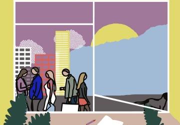 Julian Opie – Dentro de Casa, atividades para famílias, 1º ciclo   #MCB_OnlineKids
