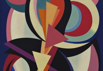 Percurso online pela Coleção Berardo Abstração entre Guerras, Henry Moore, Max Bill e Robert Delaunay