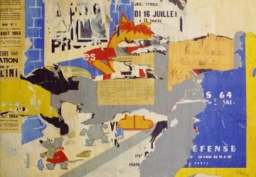 Percurso online pela Coleção Berardo: Nouveau Réalisme e Descolagismo